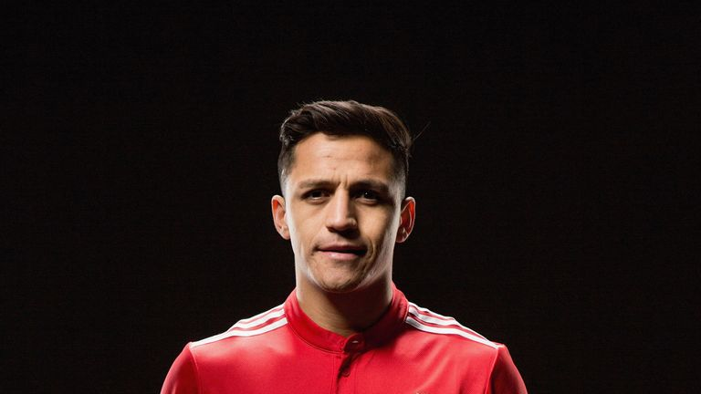 Former Arsenal striker Alexis Sanchez signed for Manchester United on January 22