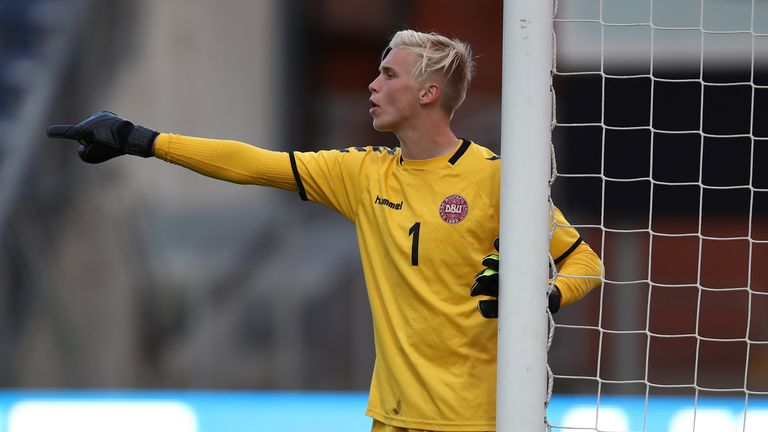 Wolves have confirmed the signing of young Danish goalkeeper Andreas Sondergaard on a two-and-a-half year deal