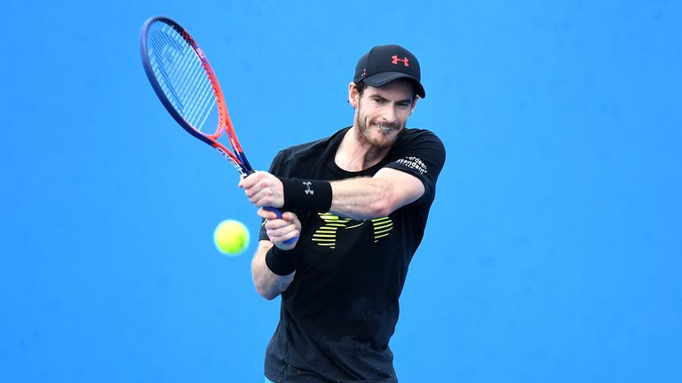 Andy Murray hopes to be back on tour during the grass-court season and in time for Wimbledon