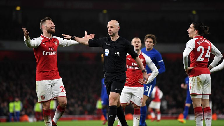 Referee Anthony Taylor awards Chelsea a penalty - but was it the right call?