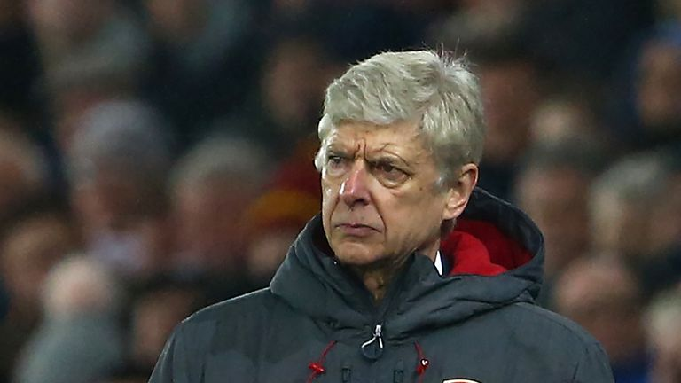 Arsene Wenger admits Arsenal have struggled this season