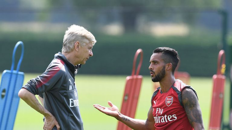 Theo Walcott has been short of Premier League game time at Arsenal this season