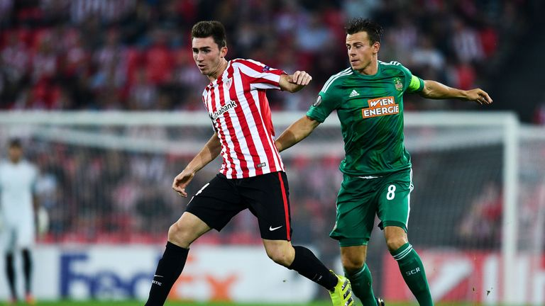 Laporte has a £57million release clause in his Athletic Bilbao contract