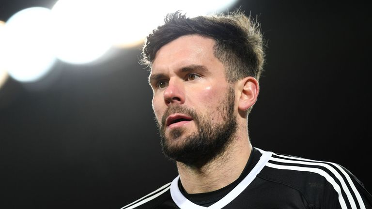 Ben Foster was kept busy