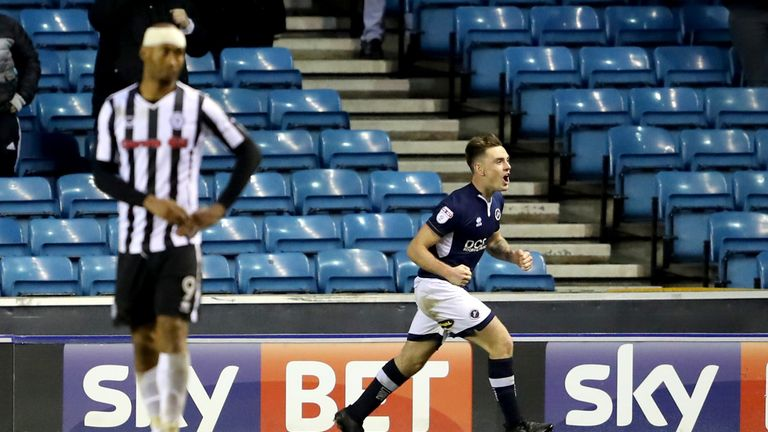 Ben Thompson scored a 90th-minute equaliser
