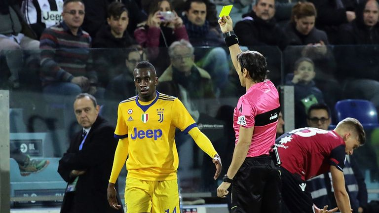 new style 519fc 85482 Juventus' Blaise Matuidi claims to have been racially abused ...