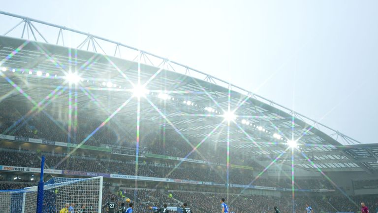 Chelsea's trip to the Amex Stadium means they have played Premier League games in 58 grounds.