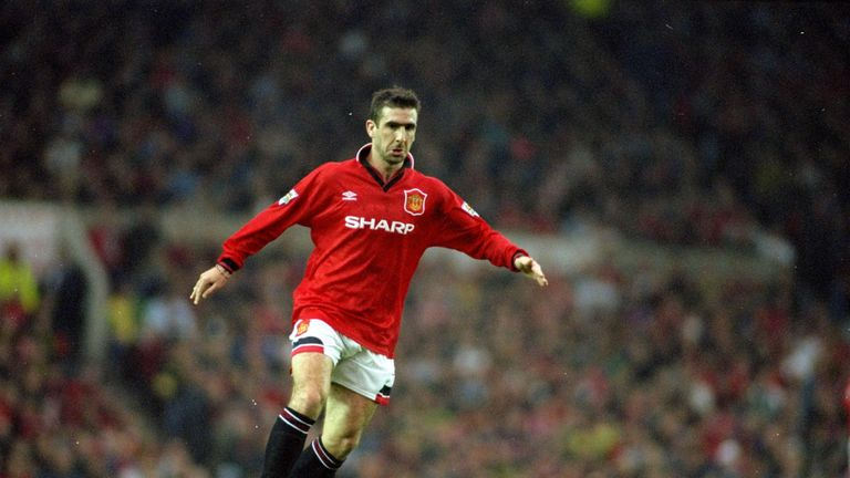 Eric Cantona won six major honours in five years at Old Trafford