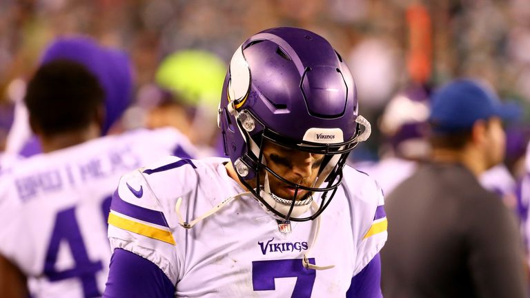 Case Keenum enjoyed his best season last year with the Vikings but has not been tagged
