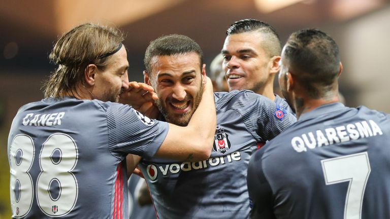 Tosun scored 41 goals in 96 appearances for Besiktas, including four in this season's Champions League