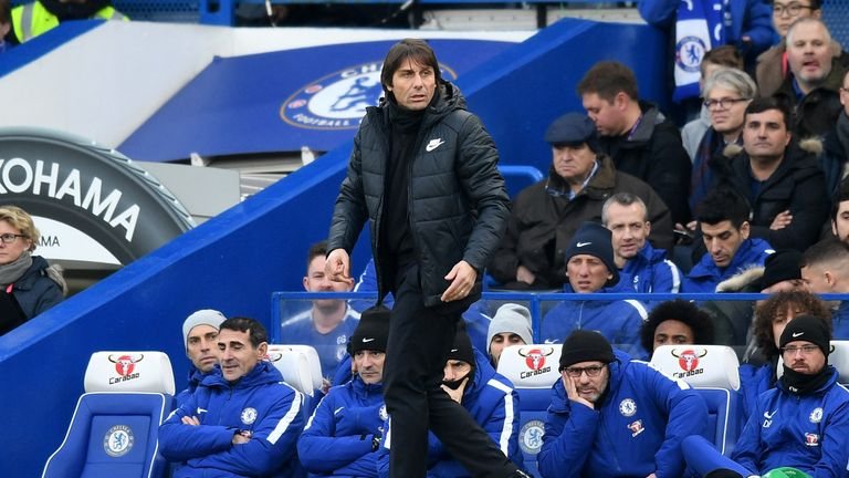 Antonio Conte has said he does not know if Chelsea are trying to sign Sanchez