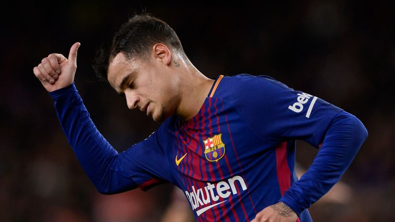 Barcelona's pursuit of Philippe Coutinho was one of the reasons for the change
