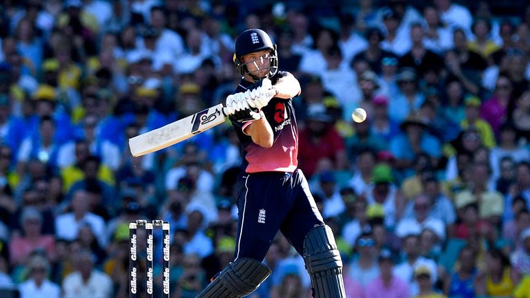 Jos Buttler smashed 100 not out off 86 balls to claim the man-of-the-match award