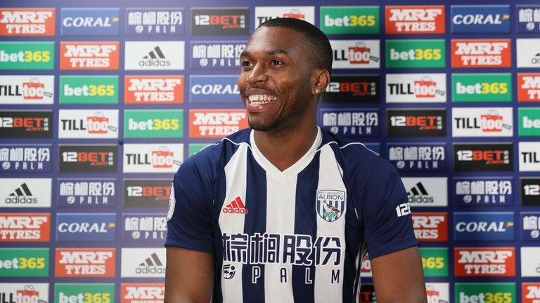 Sturridge has joined West Brom. Credit: West Bromwich Albion FC