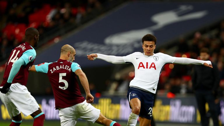 Dele Alli faces a late fitness test