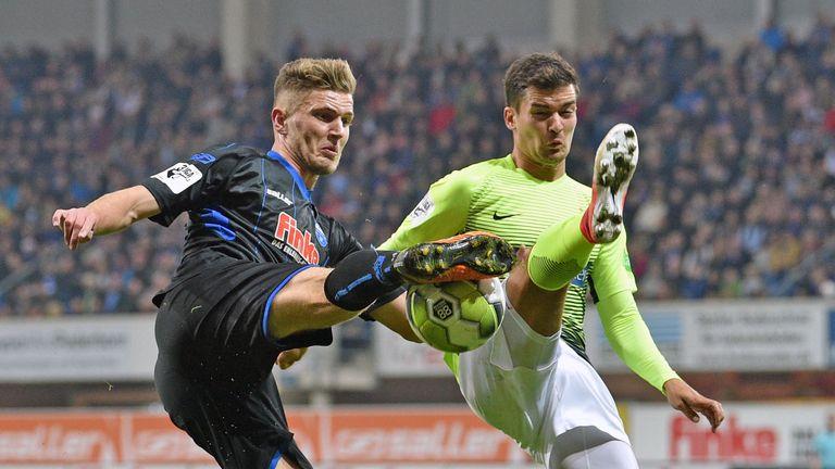 Dennis Srbeny is Daniel Farke's latest addition from German football