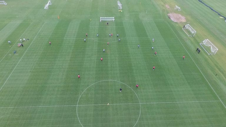 Are drones football's new tactics tool? We lift the lid on