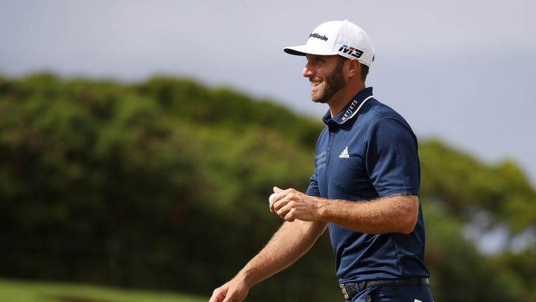 Dustin Johnson was in imperious form as he cruised to an eight-shot win