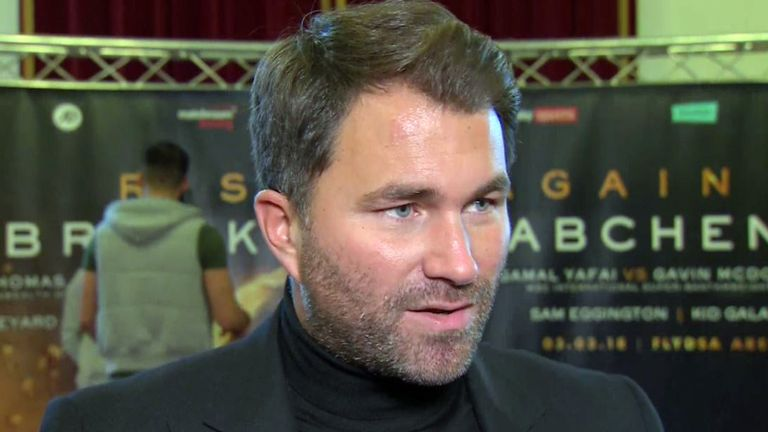 The RFL would be happy to speak to Eddie Hearn and Matchroom Sport, says Rimmer
