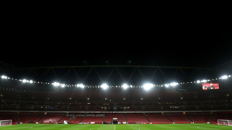 General view of the Emirates Stadium prior to the Premier League match between Arsenal and Chelsea