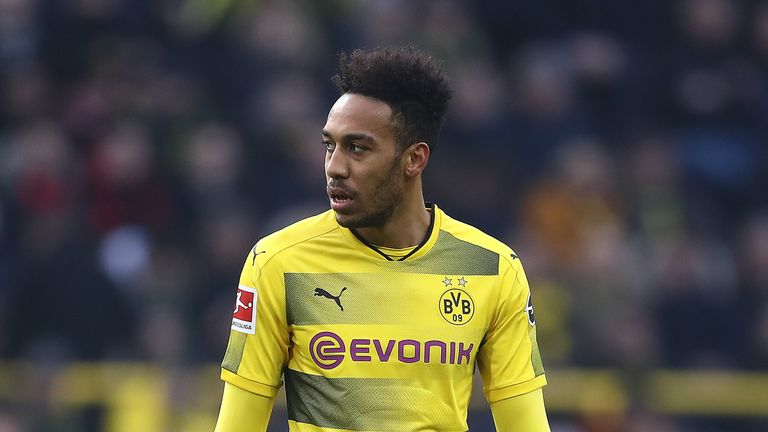 Pierre-Emerick Aubameyang left Dortmund last January