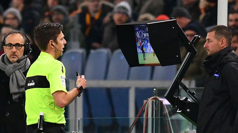Serie A have introduced VAR this season but Howe is unsure whether it will be a success in England