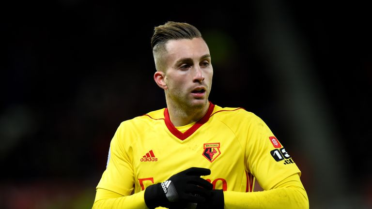 Gerard Deulofeu has an abdominal problem