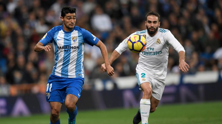 Malaga ended a run of four straight defeats when drawing 1-1 with Eibar