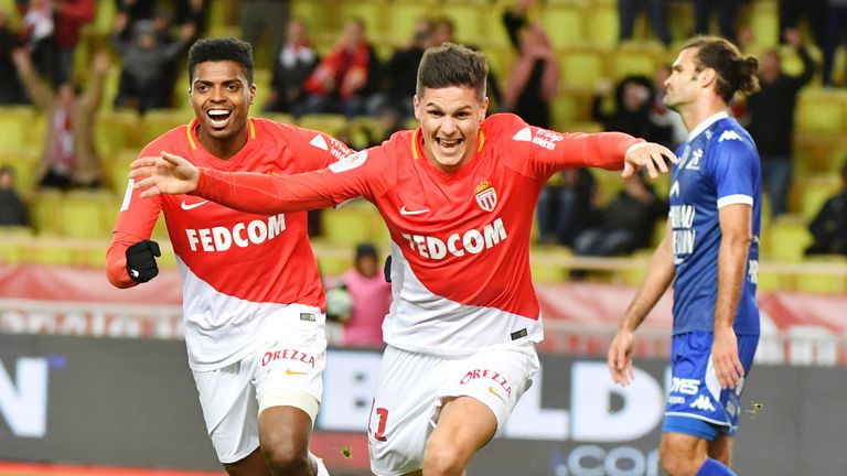Guido Carrillo has scored 20 goals in over 50 games for Monaco