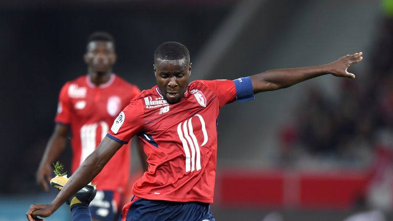 Crystal Palace have tried to sign Ibrahim Amadou on loan but Lille prefer a permanent move