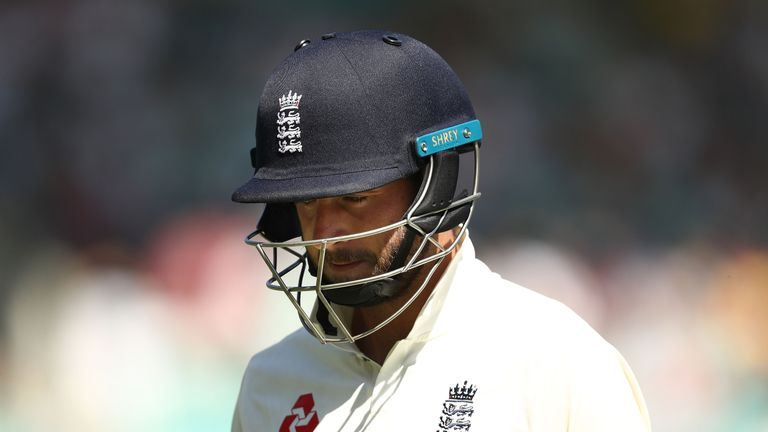 Hussain is frustrated by England batsmen getting out in the same way time and again