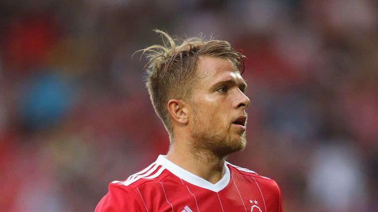 Jamie Ward hasn't played for Nottingham Forest since late 2017 and spent the first four months of this season on loan at Charlton