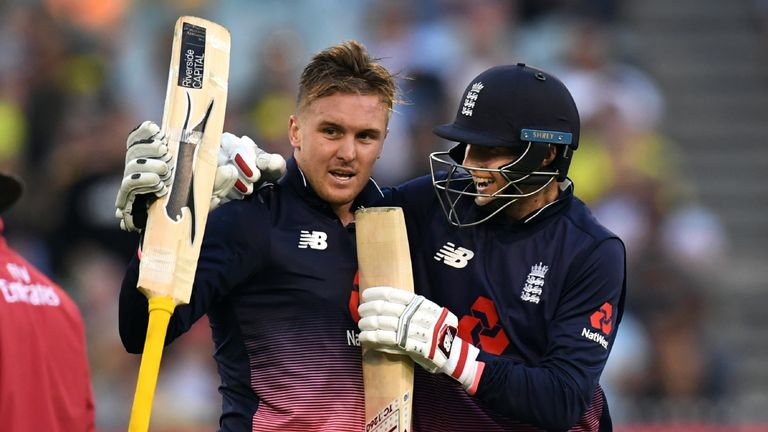 Jason Roy hit a brilliant 180 as England beat Australia at the MCG