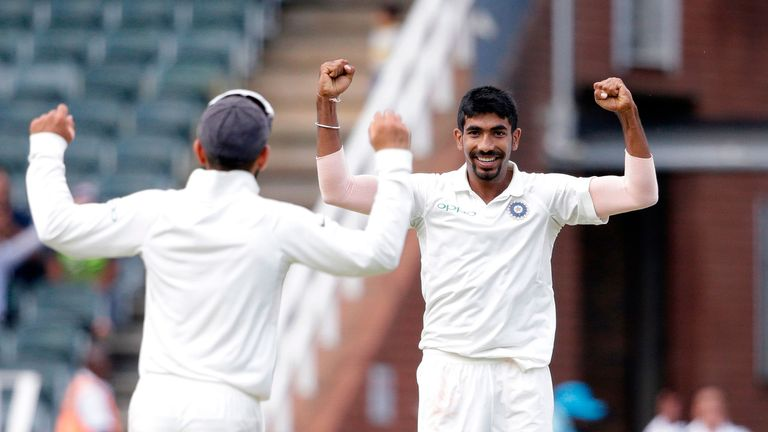 Jasprit Bumrah will be available from the second Test onwards