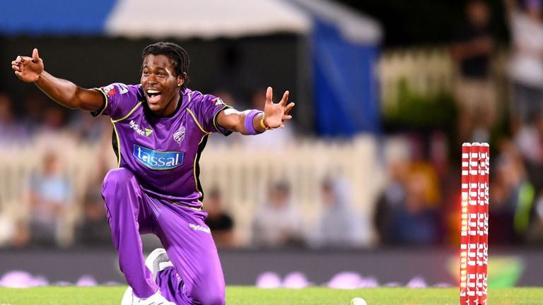 Archer starred for the Hobart Hurricanes in this winter's Big Bash League