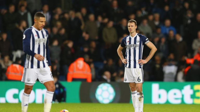 Alan Pardew says 'nothing's changed' amid speculation about Jonny Evans' future at West Brom