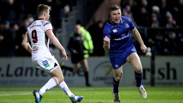 Jordan Larmour's brief flirtation with Test rugby seems to have ended for now