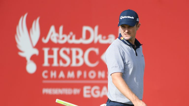 Justin Rose is out early after making the cut on the mark