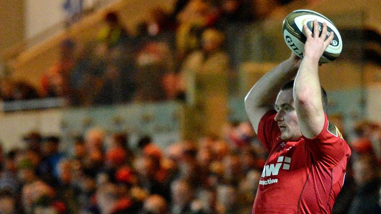 Scarlets skipper Ken Owens led his team to a superb win over Toulon