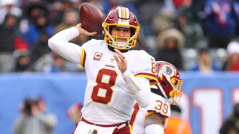 Kirk Cousins has been tagged twice but will hit free agency this month after the Redskins opted against a third year of the franchise tag for their QB