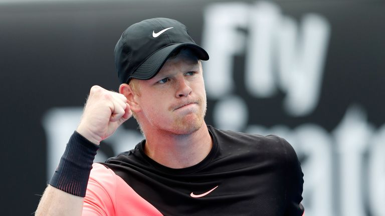Kyle Edmund has an opportunity to make a significant imprint in Melbourne