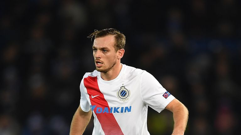 Leeds are close to signing left-back Laurens De Bock from Club Brugge