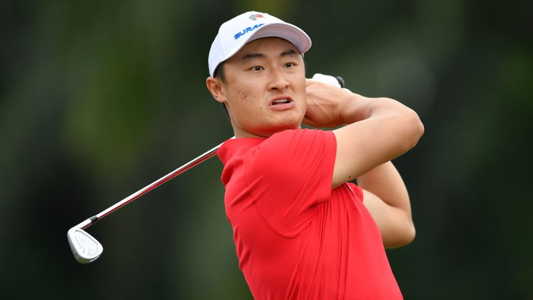Haotong Li enjoyed an impressive week for the Asia team