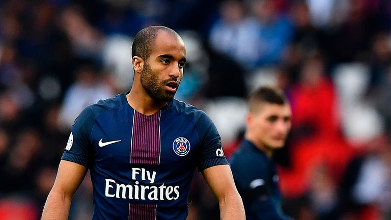 Neymar and Kylian Mbappe restricted Lucas Moura's first-team chances at PSG