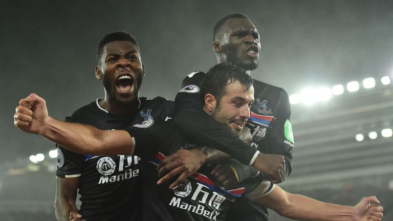 Crystal Palace will be looking to climb clear of the drop zone over the remainder of the season