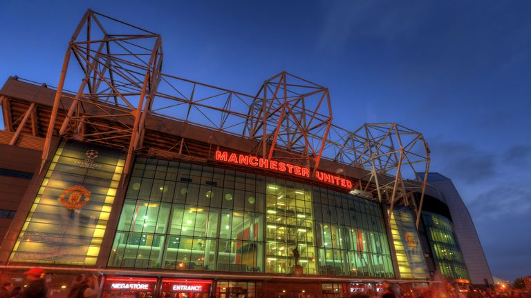 MANCHESTER, ENGLAND - OCTOBER 23:  (EDITORS NOTE: THIS IS A HDR PHOTOGRAPH, HIGH DYNAMIC RANGE) A general view of the East Stand at Old Trafford, the home