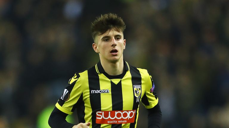 Mason Mount has scored 14 times for Vitesse this season, but does he have a chance in Chelsea's first team?