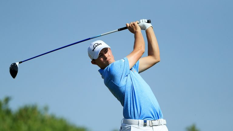Matthew Fitzpatrick blitzed his way to a 63 in the third round