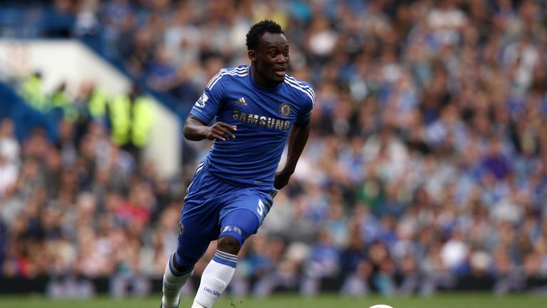 LONDON, ENGLAND - MAY 13:  Michael Essien of Chelsea in action during the Barclays Premier League match between Chelsea and Blackburn Rovers at Stamford Br