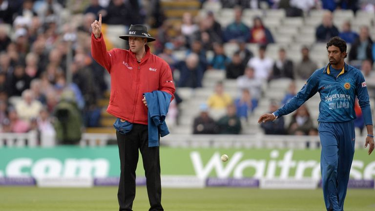 Michael Gough quit playing early and is now an international umpire